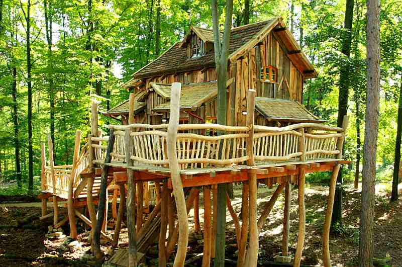 Baumhaus im Natur-Resort Tripsdrill