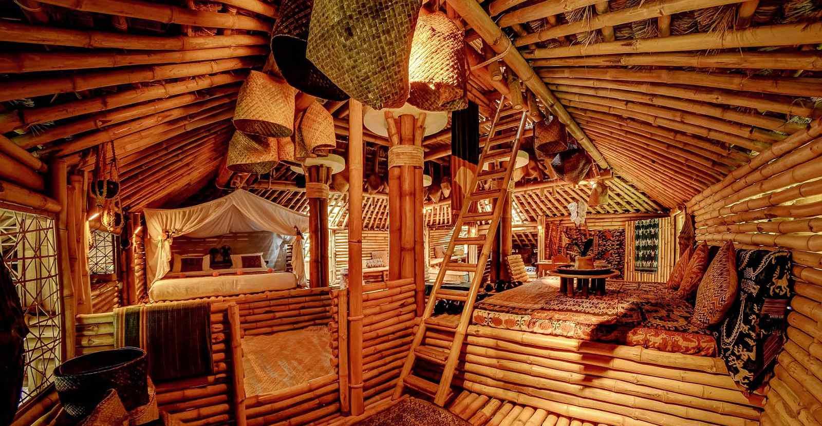 Bambus bestaunen auf Bali