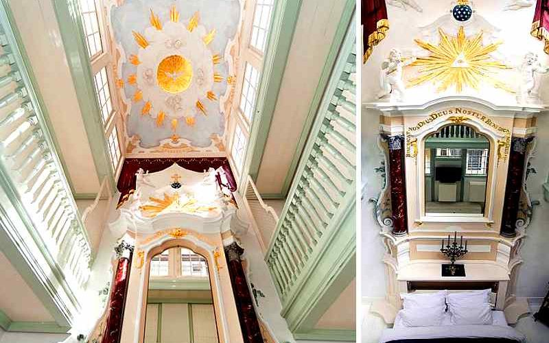 Geheimtipp für eine himmlische Übernachtung in Amsterdam: Appartement 'Secret Chapel'