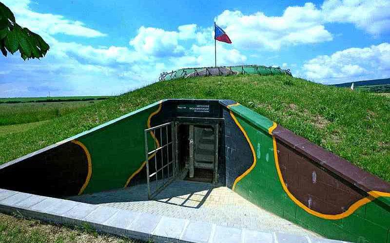 Übernachten im Bunker - Glamping-Erlebnis in Tschechien