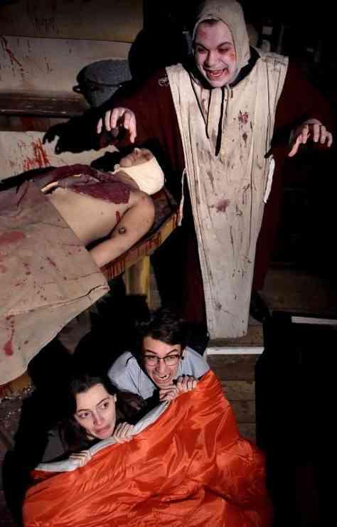 Schlaflose Nacht in der Folterkammer der Blackpool Tower Dungeons