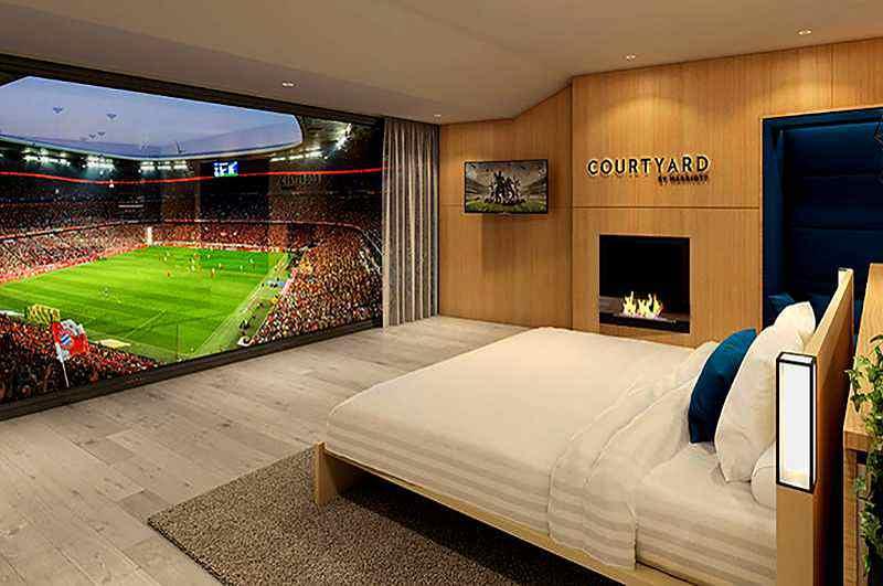 VIP-Suite im Fußballstadion