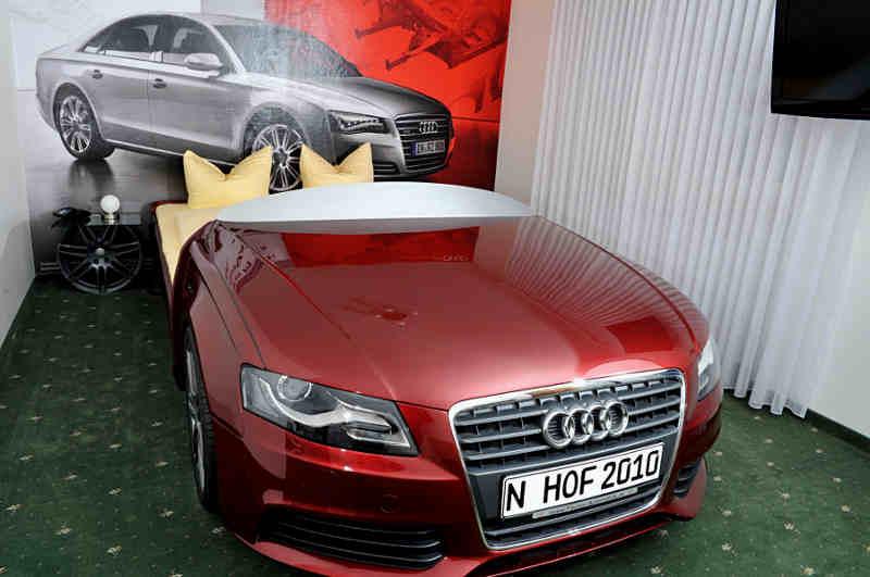 Audi Themenzimmer in Bayern