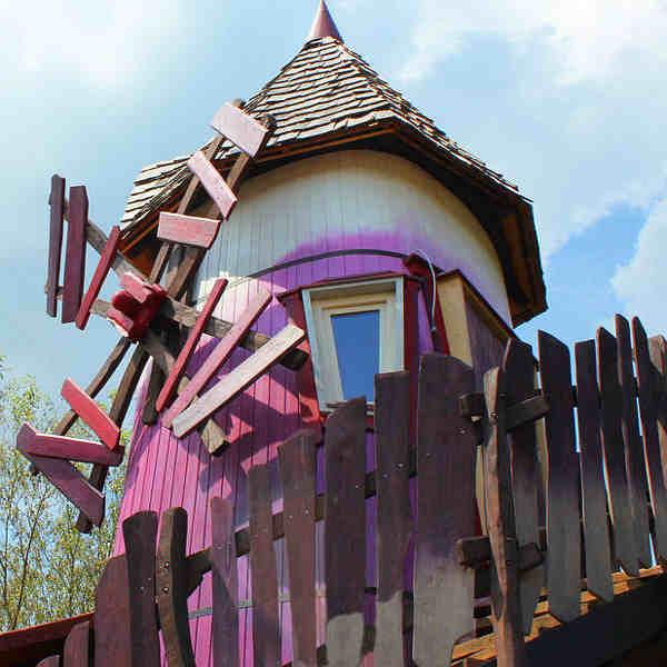 Windrose der Mystischen Mühle im Freizeitpark Turisede