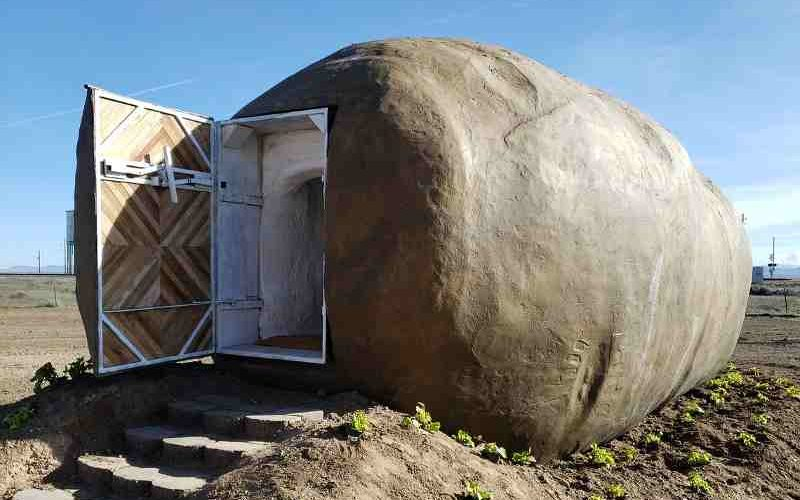 Big Potato Hotel in Idaho: Skurille Ferien in der Fake-Kartoffel