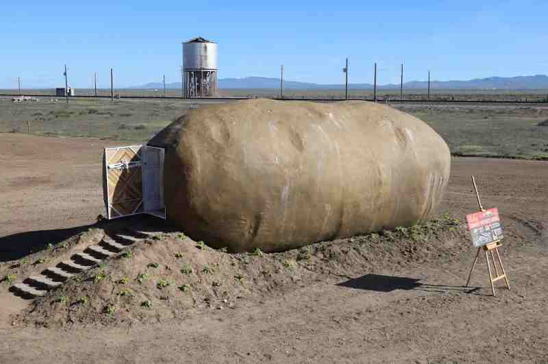 Komplettansicht Big Potato Hotel in Idaho