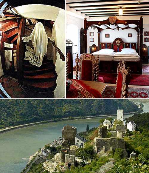 Gespensternacht auf Burg Liebenstein am Rhein