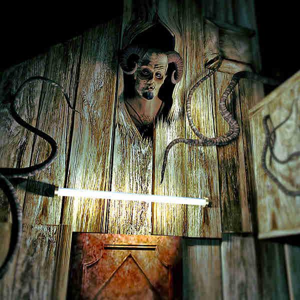 Virtuelles Gruselhotel und Escape Room zugleich: unheimliches Mischwesen im Chambre 1424