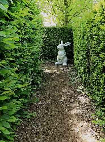 Der Schlüssel zum Chambre 1424 verbirgt sich im mysteriösen Labyrinth-Garten der Domaine Albizia