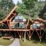 Baumhaushotels in Österreich: Ansicht Baumhaus Wanderhotel Gassner (Eröffnung Dezember 2019)