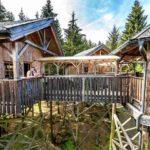 Baumhaushotels in Österreich: die Baumhotel Apartments am Baumkronenweg in Kopfing bieten Platz für bis zu sechs Personen
