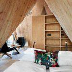 Baumhaushotels in Österreich: Treeloft im Zillertal (Ansicht Doppelbett)