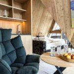 Baumhaushotels in Österreich: Treeloft im Zillertal (Ansicht Wohnbereich)