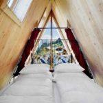 Baumhaushotels in Österreich: Treeloft im Zillertal (Doppelbett im Giebel)