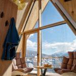 Baumhaushotels in Österreich: Treeloft im Zillertal (Panorama-Ausblick)
