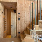 Baumhaushotels in Österreich: Treeloft im Zillertal (Treppe nach oben)