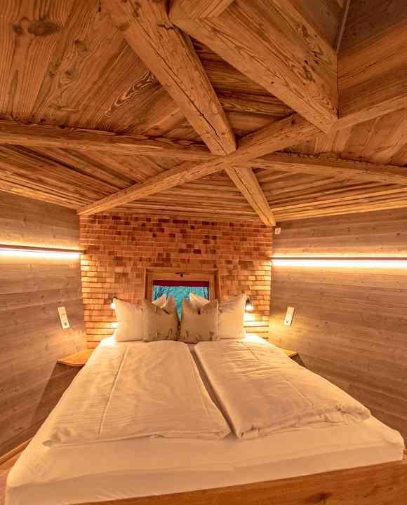 Die Landeier des Baumhaushotels Allgäu gehören zu den coolsten Glamping-Erfahrungen in Bayern