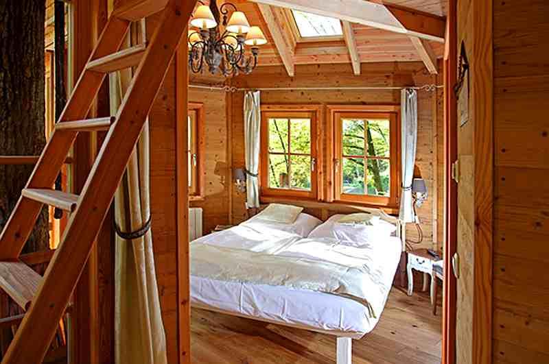 Die Seemühle im Spessart gilt als eines der exklusivsten Baumhaushotels in Bayern