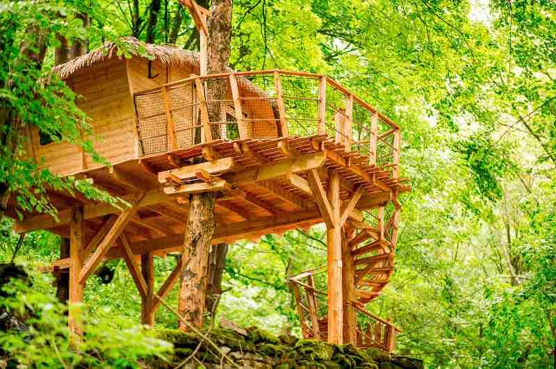 Treehouse Pod Ještědem (Tschechien)