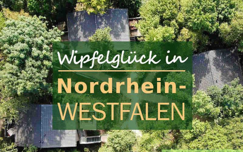 Coverbild Baumhaushotels in NRW Wipfelglück Nordrhein-Westfalen