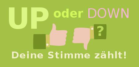 Up & Down Voting Banner Baumhaus-Ranking Österreich