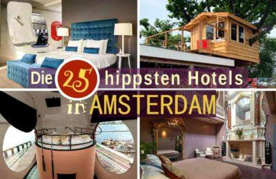 Hotels Amsterdam Zentrum: 25 extrem coole Unterkünfte in der Grachtenstadt