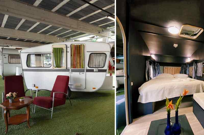 Als Alternative zu muffigen Hotels bietet das Outside Inn mitten in Amsterdam ein urbanes Zentrum für Indoor-Camping
