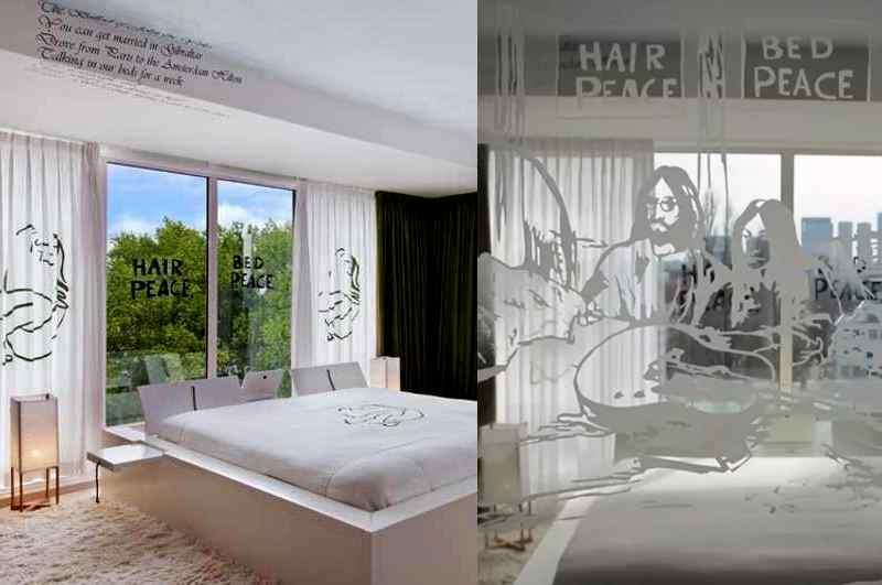 Das legendäre Bed-In von John Lennon und Yoko Ono rückt die originale Suite des Hilton Hotels Amsterdam bei vielen Beatle-Fans ins Zentrum der Aufmerksamkeit
