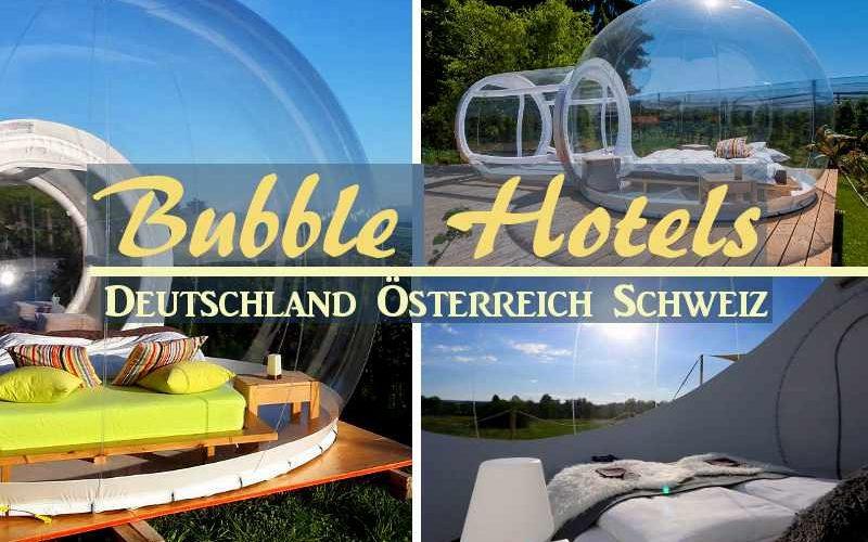 Coverbild Bubble Hotels in Deutschland, Österreich und der Schweiz