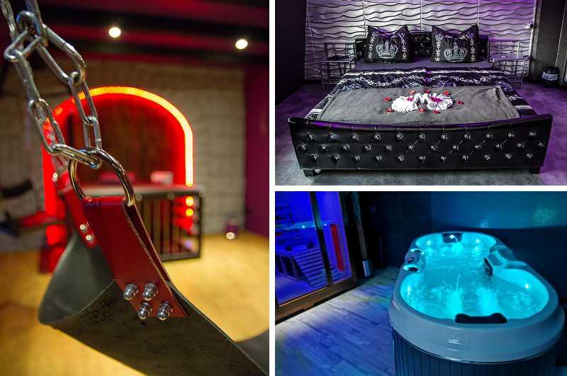 Erotikhotels in Deutschland: die Dream Night Suiten in Rees am Rhein bietet alle Voraussetzungen für eine erotische Auszeit im Stil von Fifty Shades of Grey