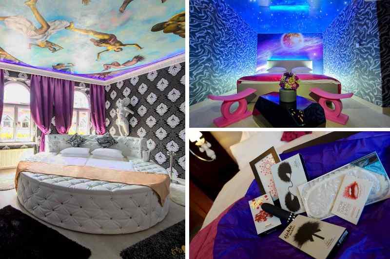 Zu den ausgewiesenen Erotikhotels in Wien gehört das Liebeshotel Urania, das nicht nur prickelnde Love Rooms sondern auch spannende Packages mit anregenden Sextoys