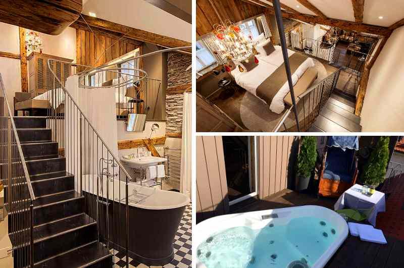 Das Boutique-Hotel Adara in Lindau (Bayern) besitzt mit der eleganten Top-Suite zwei der seltenen Hotelzimmer mit privatem Whirlpool auf der Dachterrasse