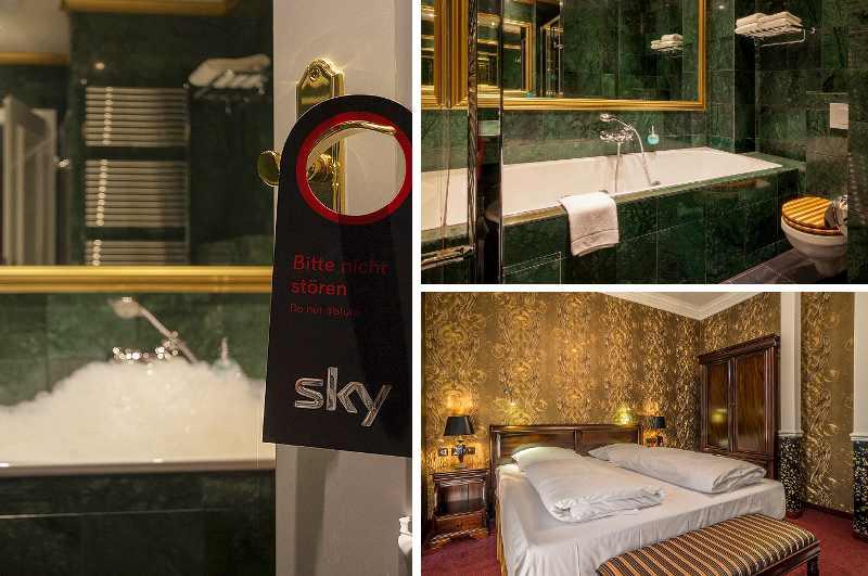 Myer's Hotel in Berlin verspricht einen entspannten Aufenthalt im Premium-Zimmer mit Whirlwanne