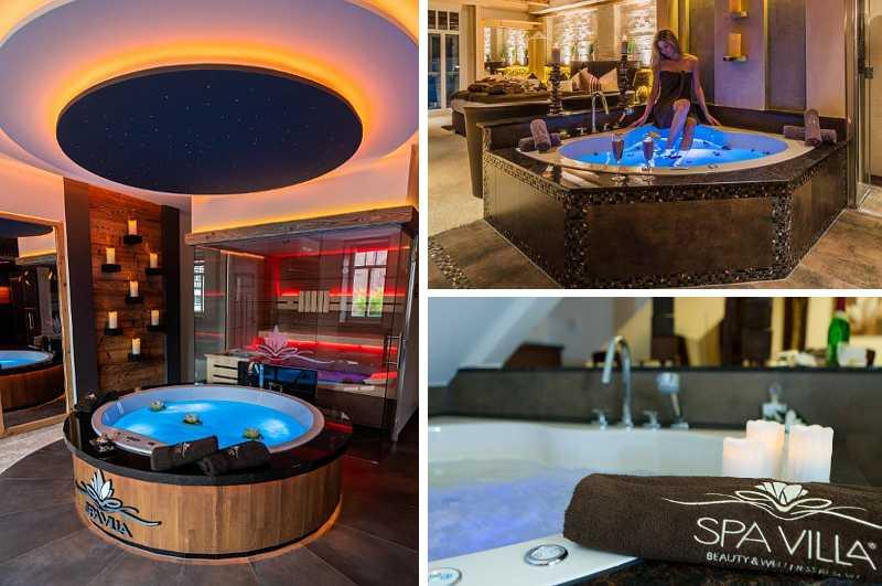 Das Wellness-Resort Spa Villa in Wingerode setzt mit seinen luxuriösen Spa-Suiten neue Standards für alle Hotels mit Whirlpool und Sauna im Zimmer