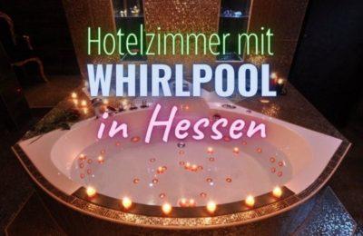Coverbild Hotelzimmer mit Whirlpool in Hessen