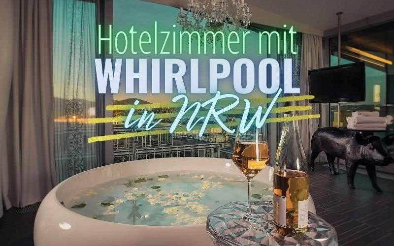 Hotelzimmer mit Whirlpool in NRW (Coverbild)