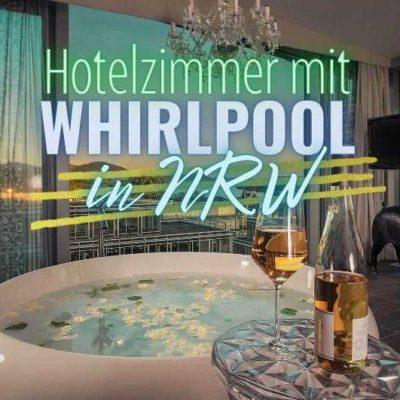 Hotelzimmer mit Whirlpool in NRW